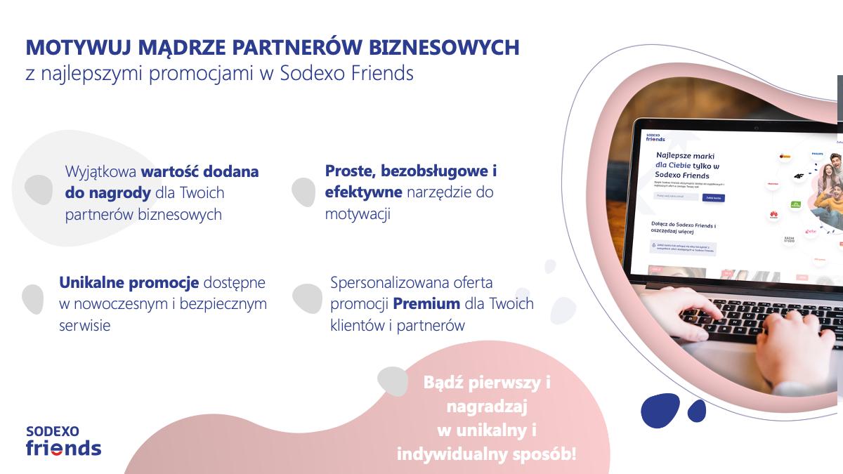 Sodexo friends - wartość dodana do twojej nagrody
