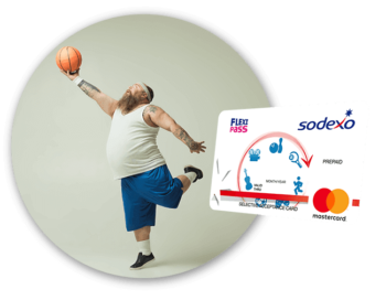 Zdjęcie pracownika i karty Flexi Pass - Karta Flexi-pass Sodexo